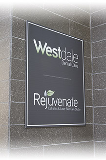 The Office Sign of Hamilton Dentist, Westdale Dental Care, Ancaster, Dundas